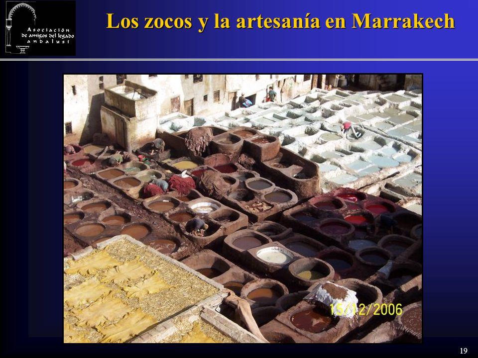 19 Los zocos y la artesanía en Marrakech