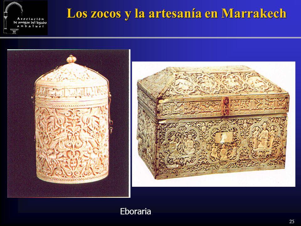 25 Los zocos y la artesanía en Marrakech Eboraria