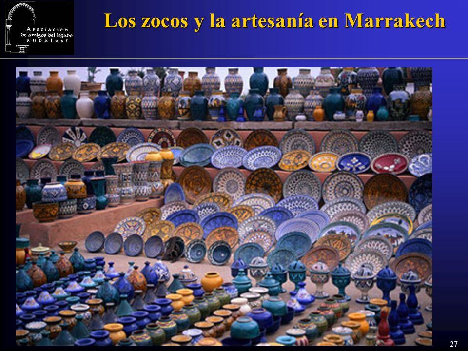 27 Los zocos y la artesanía en Marrakech