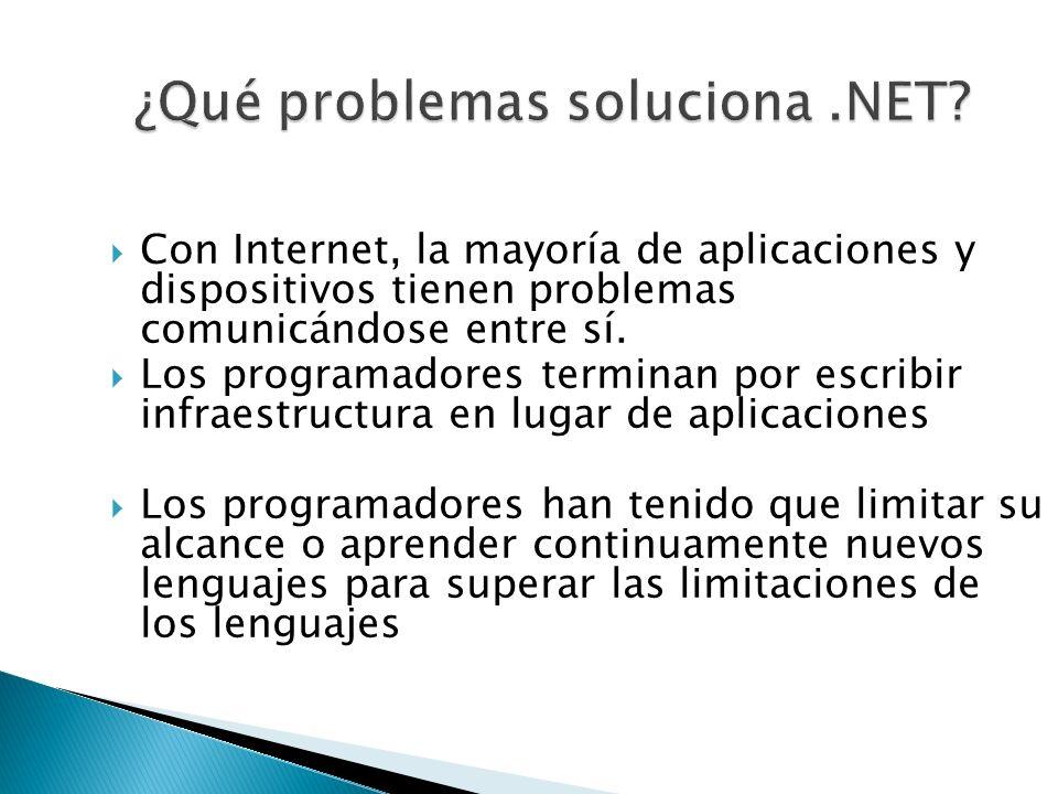 Con Internet, la mayoría de aplicaciones y dispositivos tienen problemas comunicándose entre sí. Los programadores terminan por escribir infraestructu