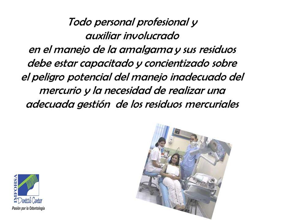 Componentes Amalgama MercurioAleación Plata Estaño Cobre Riesgo para la salud y medio ambiente No riesgo para la salud ni medio ambiente