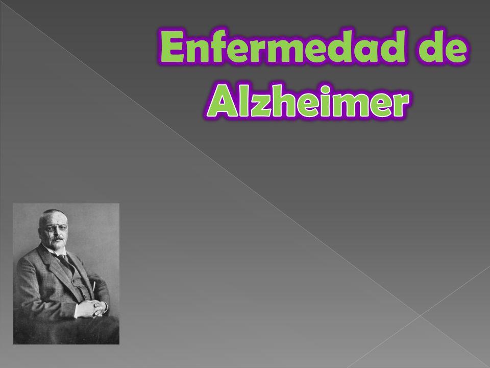 En la enfermedad de Alzheimer se produce una atrofia cerebral progresiva, bilateral y difusa, que comienza en regiones mediales temporales para afectar luego al neocórtex, sobre todo al temporal, parietal y frontal.