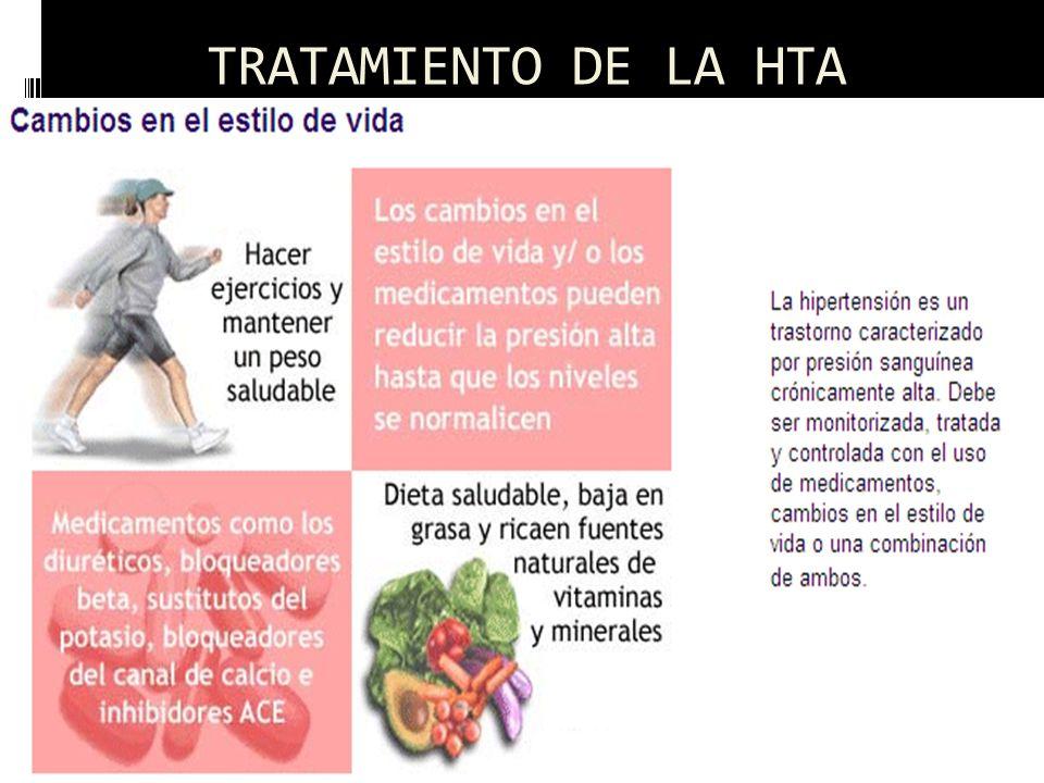 TRATAMIENTO DE LA HTA