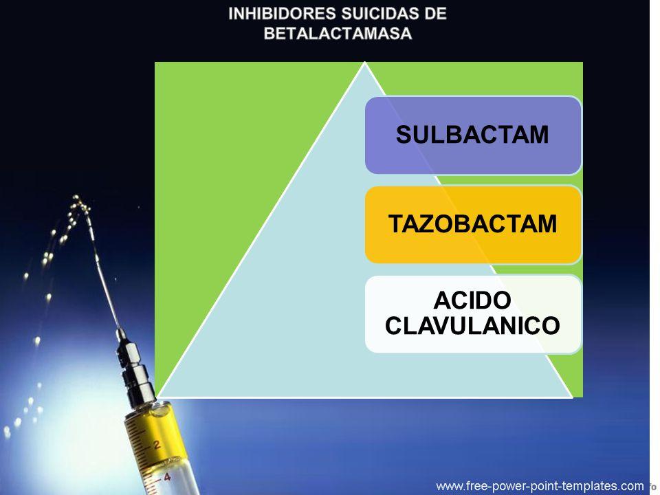 SULBACTAMTAZOBACTAM ACIDO CLAVULANICO