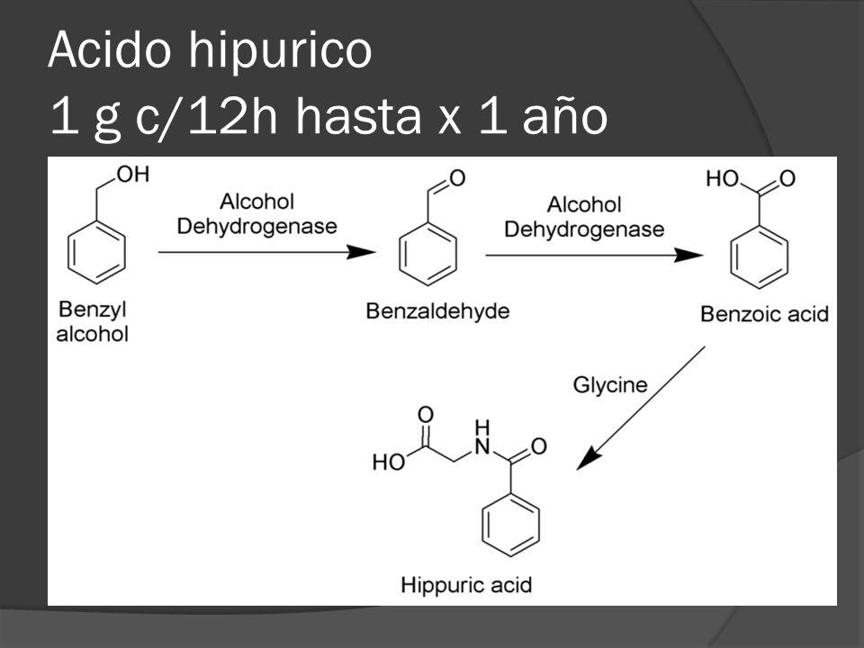 NITROFURANTOINA Compuesto sintetico que posee un nucleo furano (nitrofurano) con un anillo heterocíclico con 4 átomos de carbono y oxigeno Absorción: GI Post- ingesta:10 a 30 % se descompone en el jugo gástrico (cubierta entérica) Excreción: orina Segunda elección en ITU Tratamiento a largo plazo EFECTOS ADVERSOS GI: nauseas, vómitos y diarrea Rx de hipersensibilidad Escalofríos y fiebre.