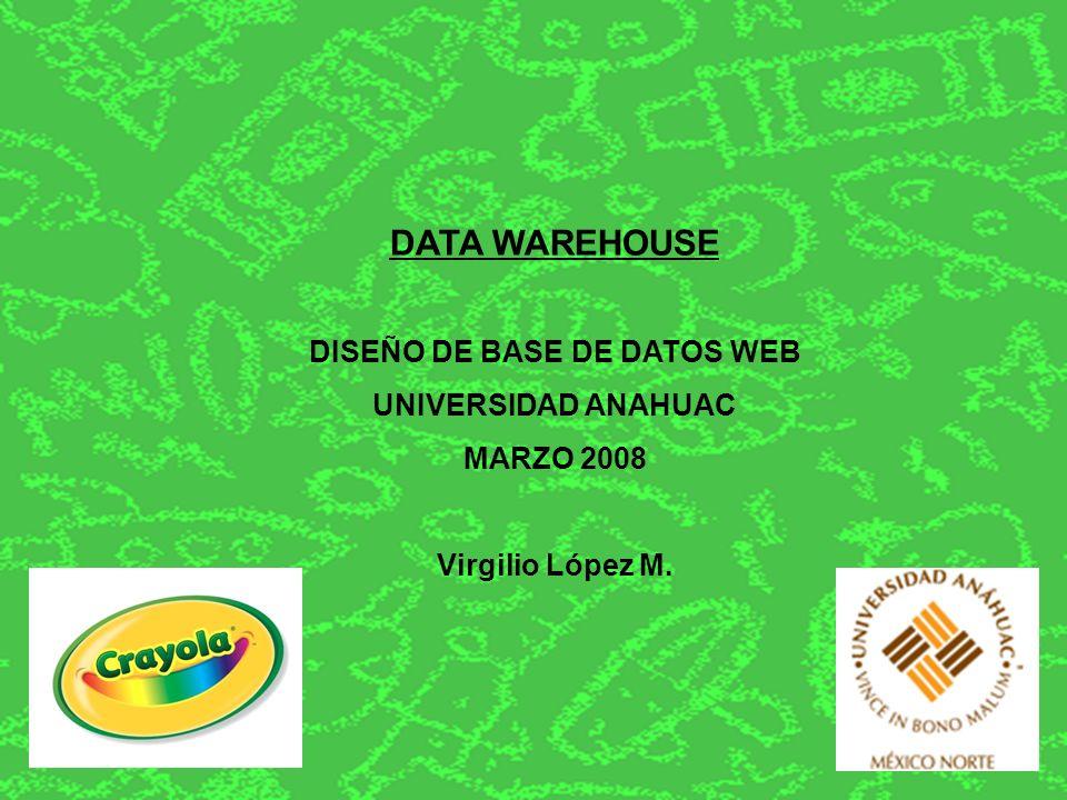 Los elementos básicos de un Data WareHouse: a) Sistema fuente: sistemas operacionales de registros donde sus funciones son capturar las transacciones del negocio.