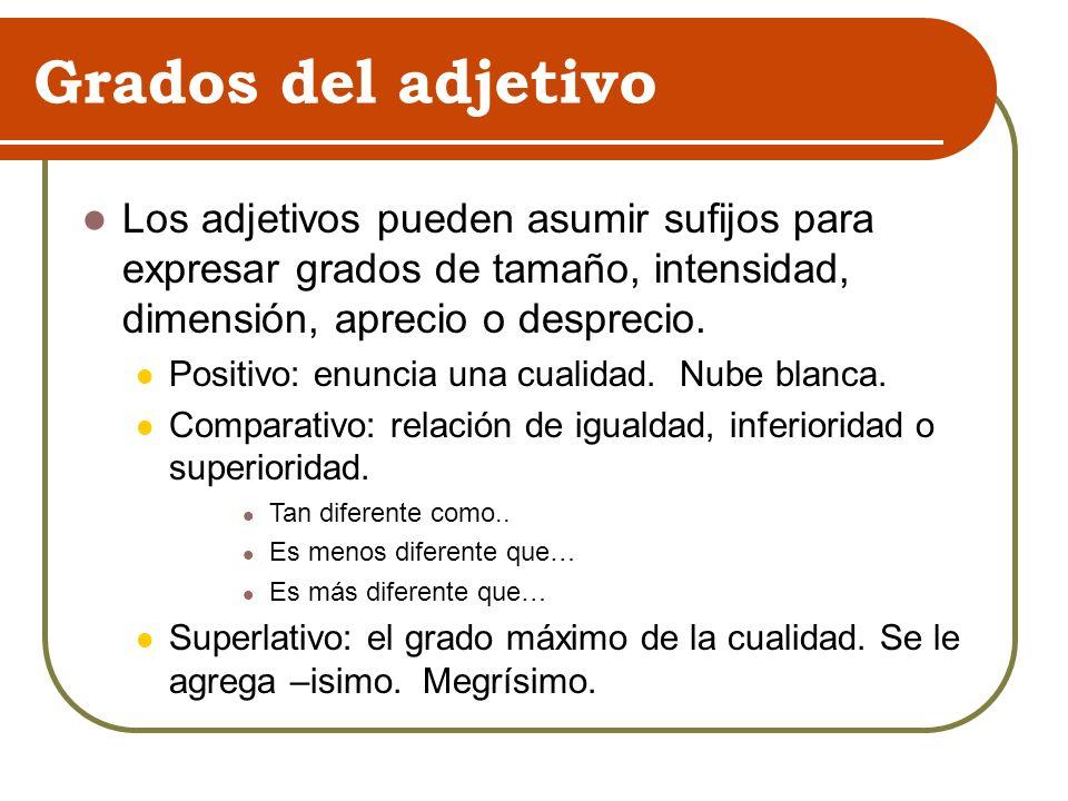 Superlativo: Pierden el diptongo: Fiel: fidelísimo Nuevo: novísimo Fuerte: fortísimo Si terminan en -ble forman el superlativo -bilísimo.