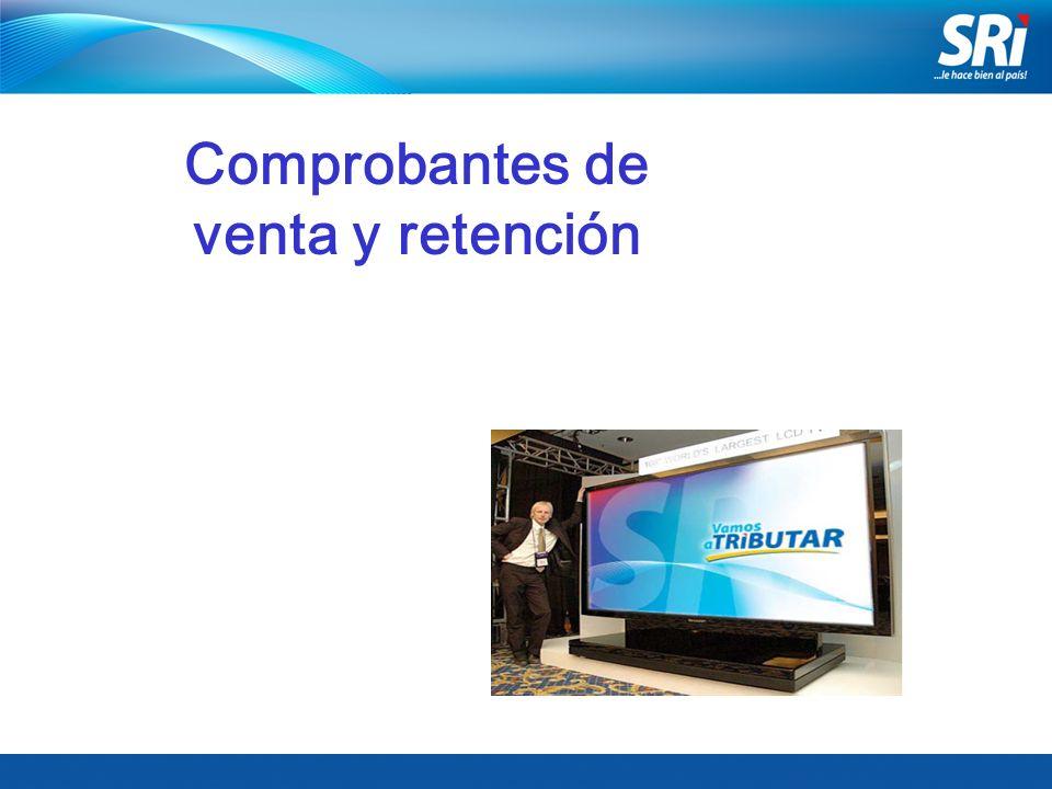 Junio 2006 Comprobantes de venta y retención