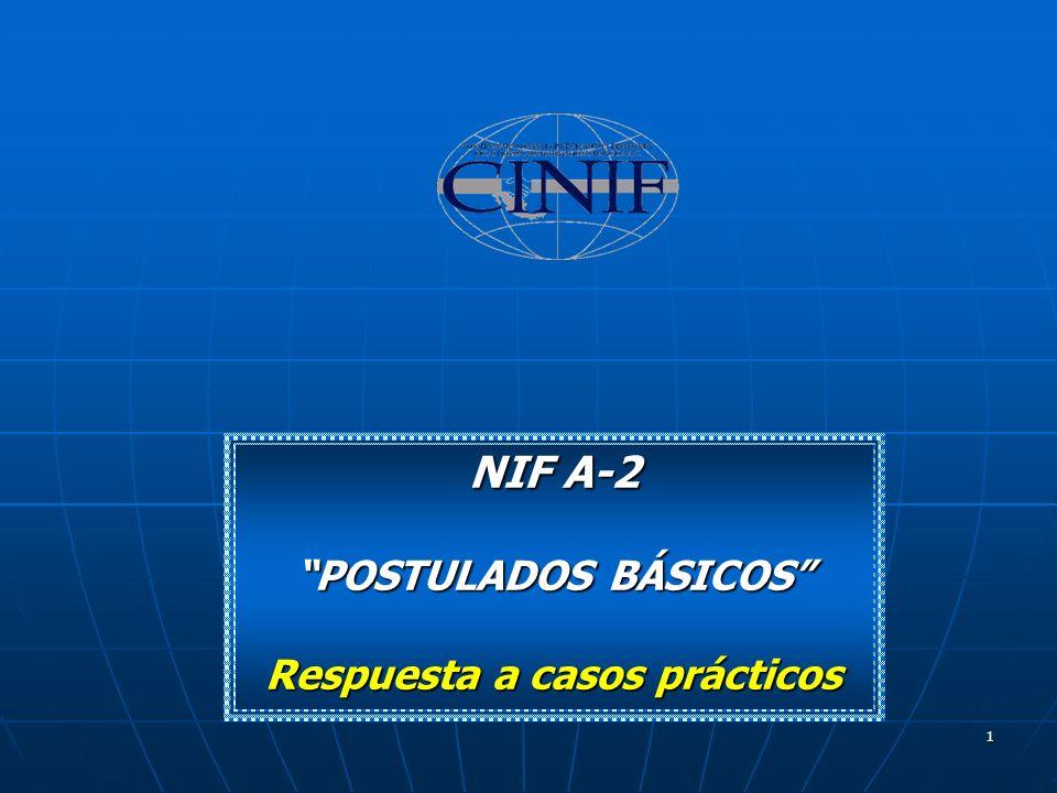 1 NIF A-2 POSTULADOS BÁSICOS Respuesta a casos prácticos
