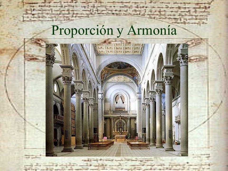Proporción y Armonía