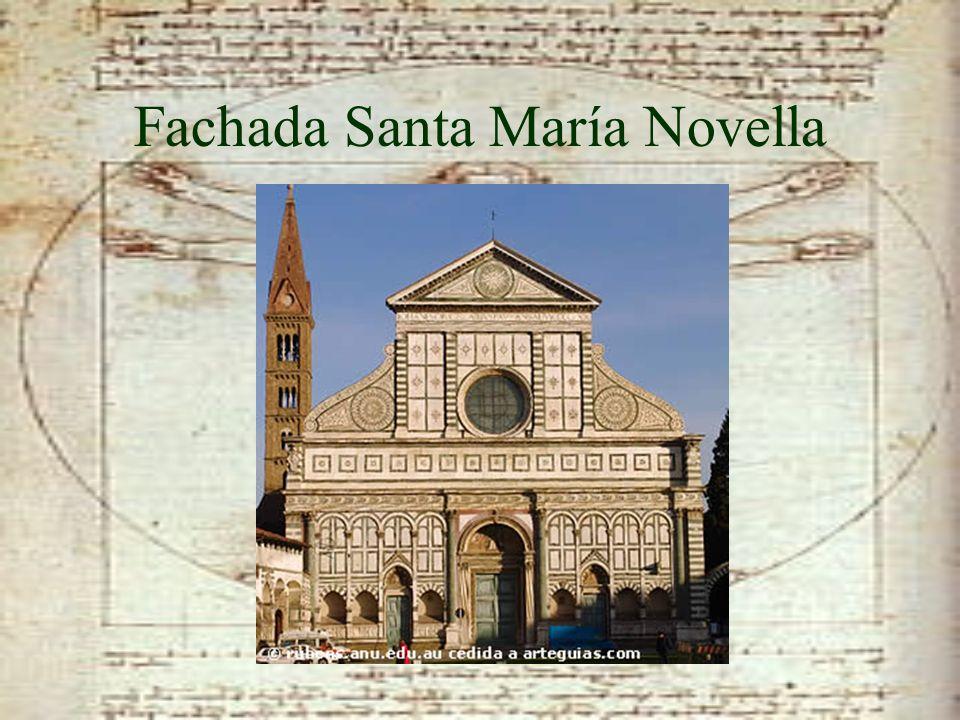 Fachada Santa María Novella