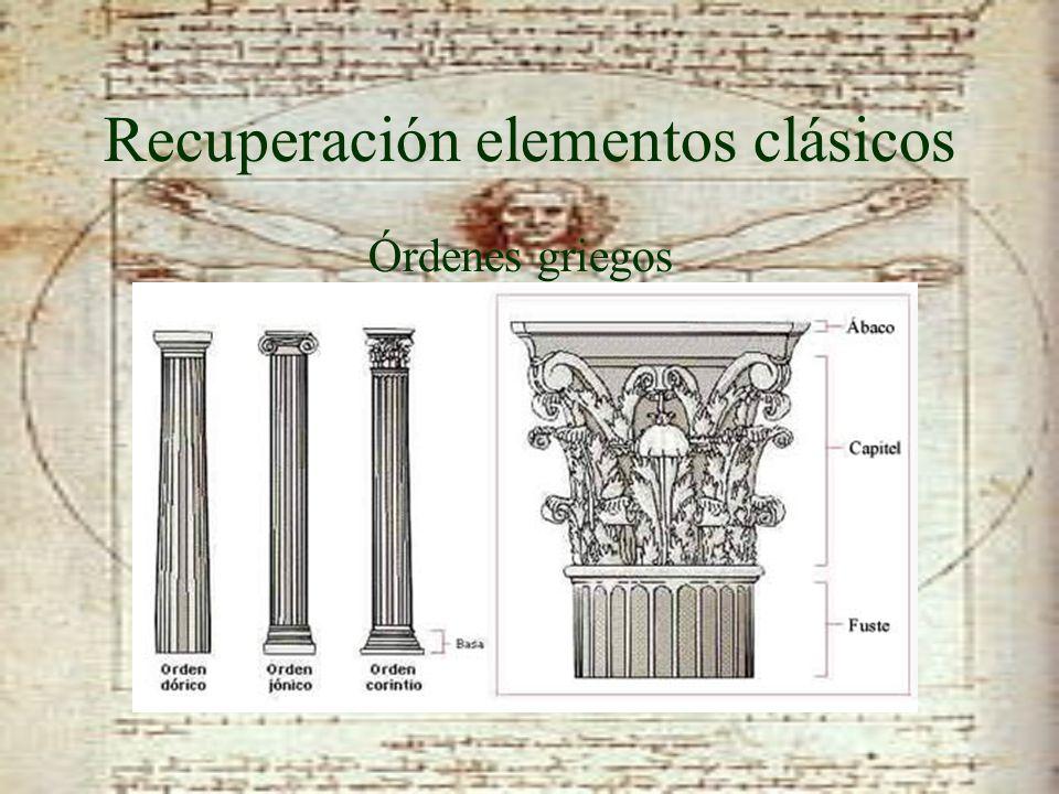 Recuperación elementos clásicos Bóveda de cañón y Cúpula