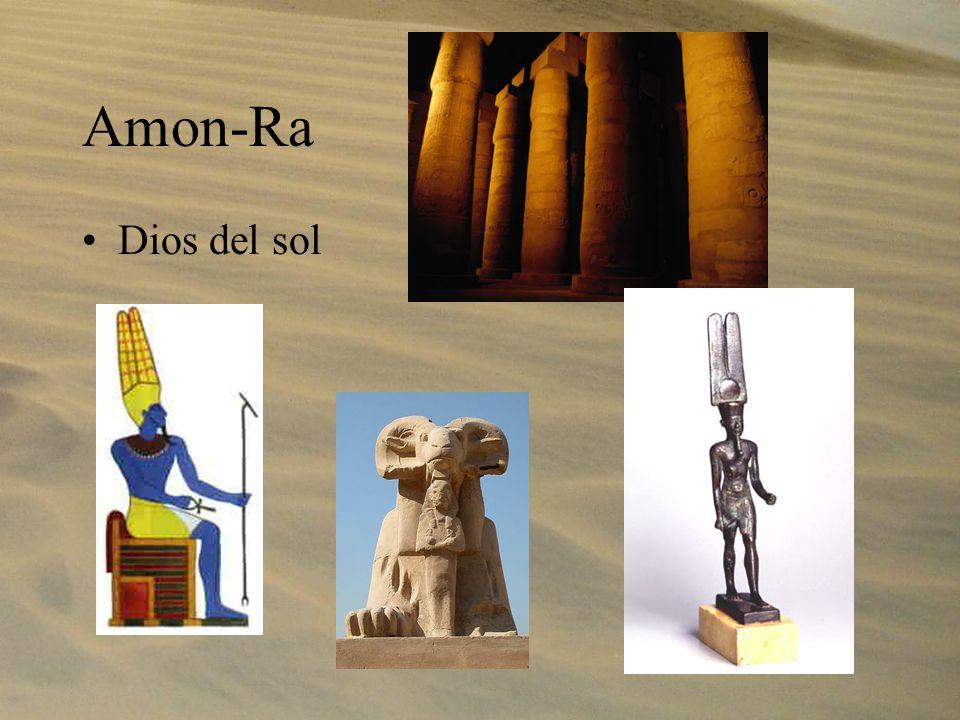 Amon-Ra Dios del sol