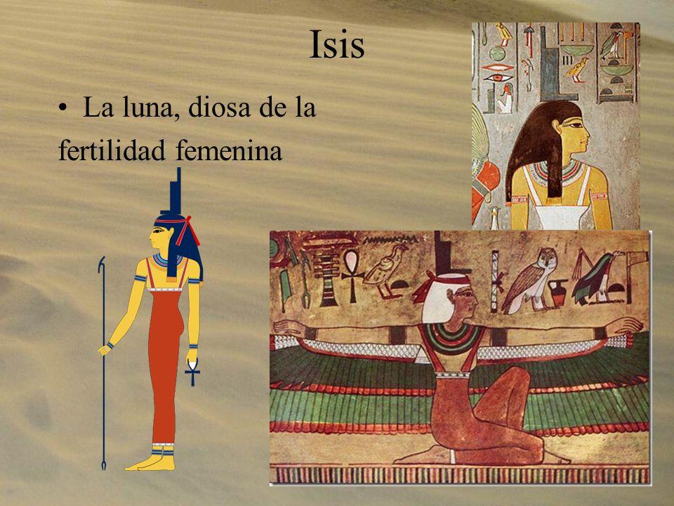 Isis La luna, diosa de la fertilidad femenina