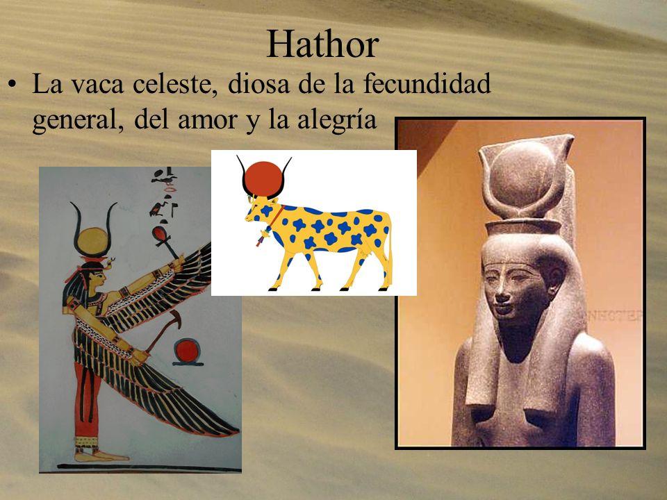Horus El halcón, dios del cielo. Encarnado en el faraón.