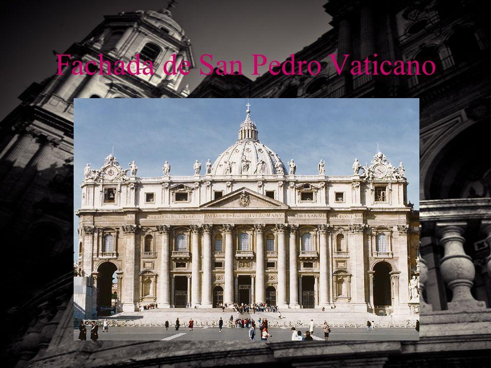 Fachada de San Pedro Vaticano