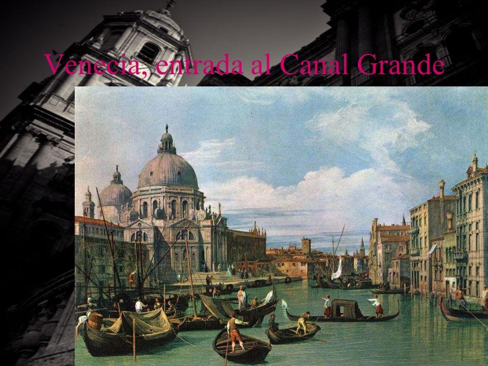 Venecia, entrada al Canal Grande