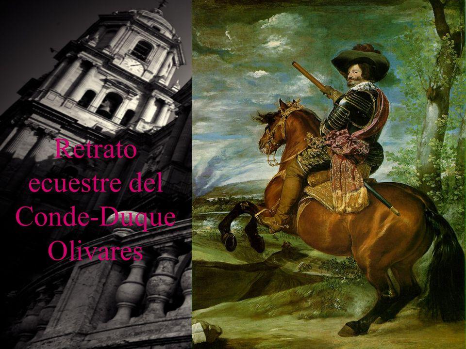 Retrato ecuestre del Conde-Duque Olivares