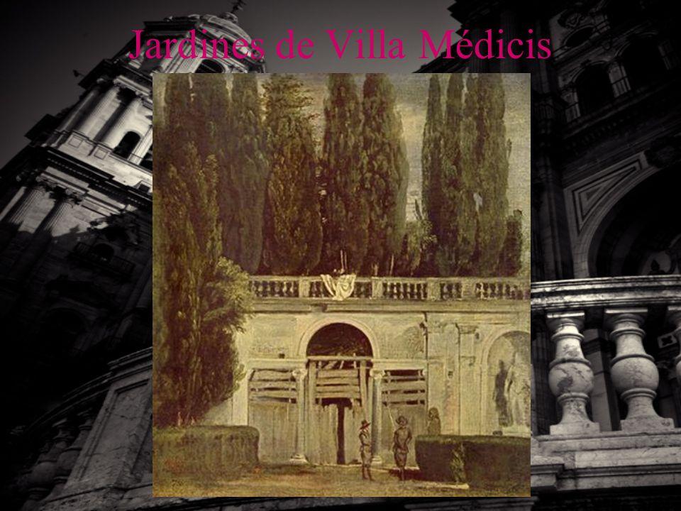 Jardines de Villa Médicis