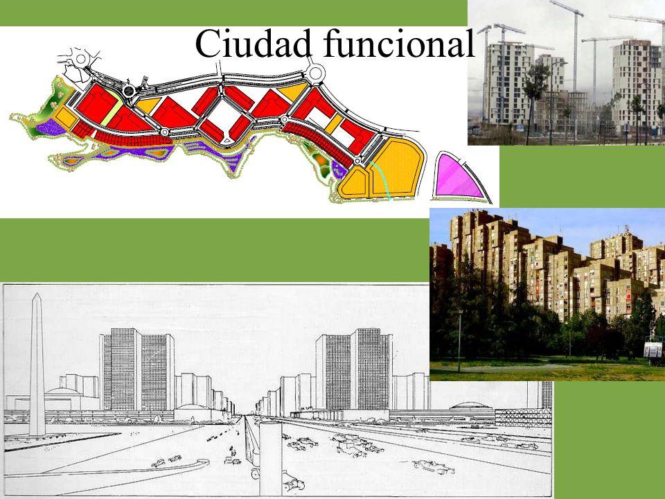Ampliación de la ciudad durante el siglo XIX Plano hipodámico, racional y ordenado Predominio de la manzana cerrada.