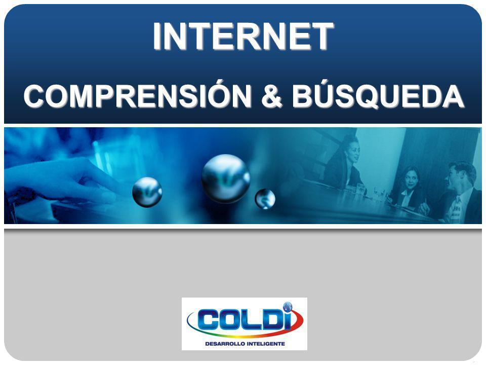 INTERNET COMPRENSIÓN & BÚSQUEDA