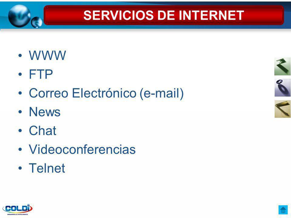 Entre otros los más populares son: YahooYahoohttp://www.yahoo.com/ AltavistaAltavistahttp://www.altavista.com/ GoogleGooglehttp://www.google.com HotbotHotbothttp://www.hotbot.com/ LycosLycoshttp://www.lycos.com/ ScirusScirushttp://www.scirus.com MOTORES DE BÚSQUEDA