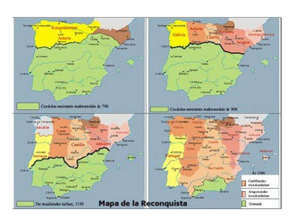 LA RECONQUISTA S.VIII Nace el Reino de Asturias S.