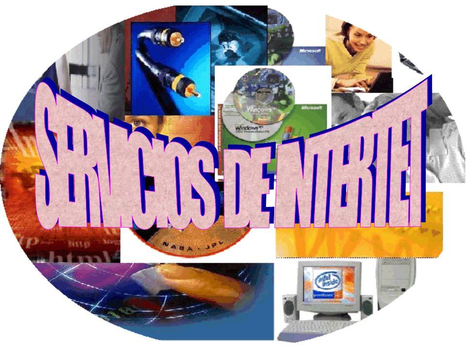 La red ofrece una serie de servicios que tienen que ver con las funciones de información, comunicación e interacción.