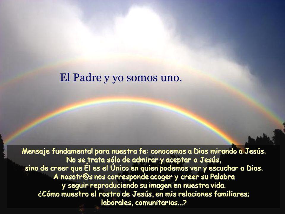 Mi Padre, que me las ha dado, es superior a todos, y nadie puede arrebatarlas de manos de mi Padre. Jesús no sólo nos conoce, nos protege y nos da vid
