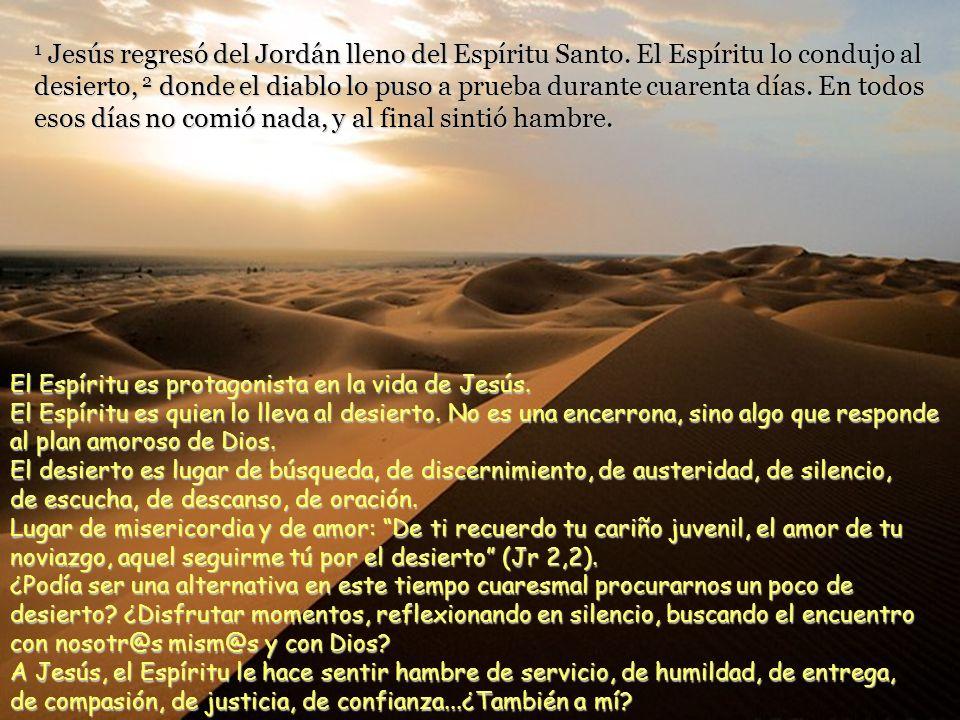 Texto: Lucas 4, 1-13. Cuaresma 1 domingo C – 17 febrero 2013. Comentarios y presentación: M.Asun Gutiérrez Cabriada. Música: Wind Spirit. Cuaresma es