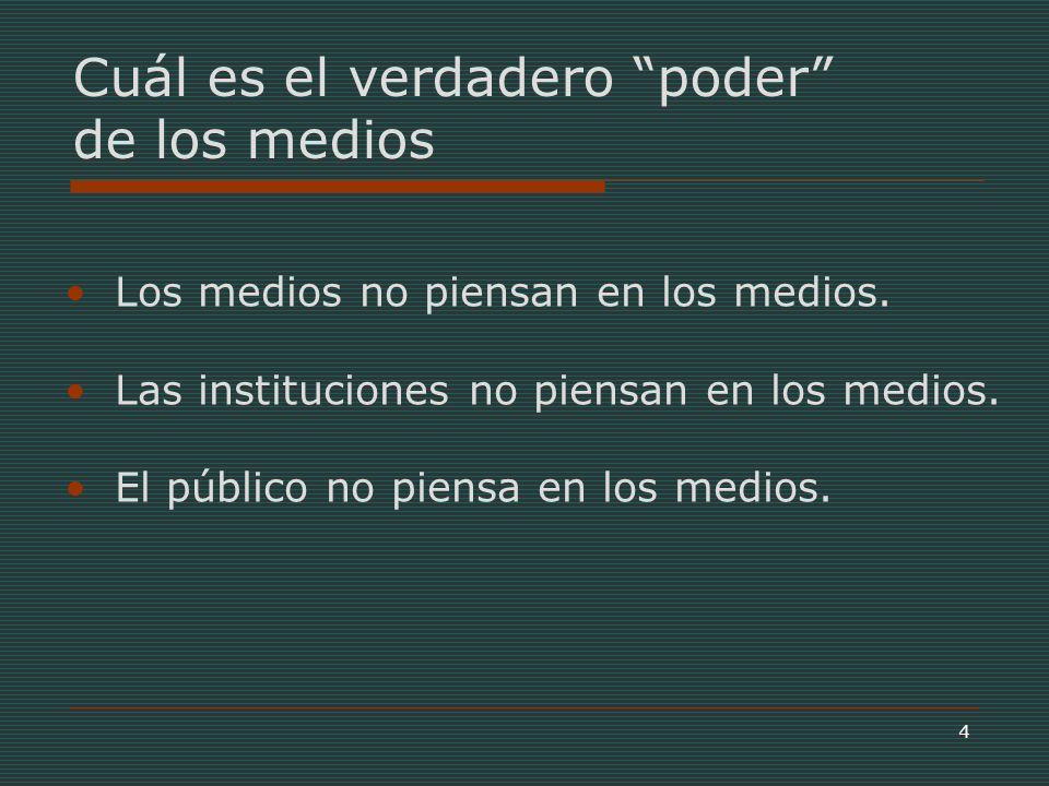 15 Fuente: CNTV, Informe 8/13, Los Tweens Chilenos, 2003 Los propios niños dan la respuesta…