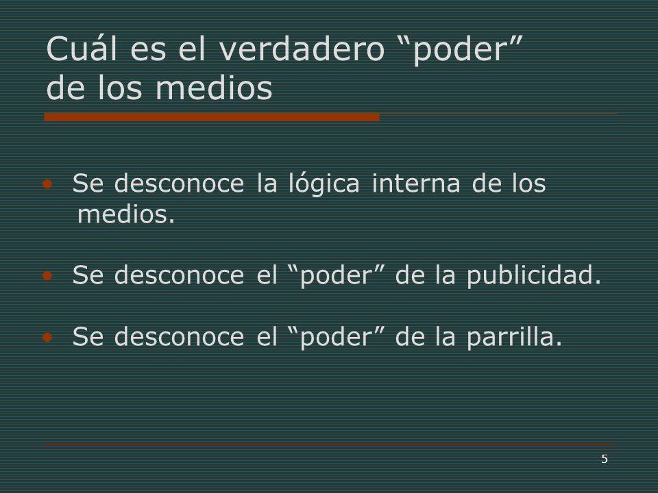 16 Fuente: CNTV, Informe 8/13, Los Tweens Chilenos, 2003 Los propios niños dan la respuesta…
