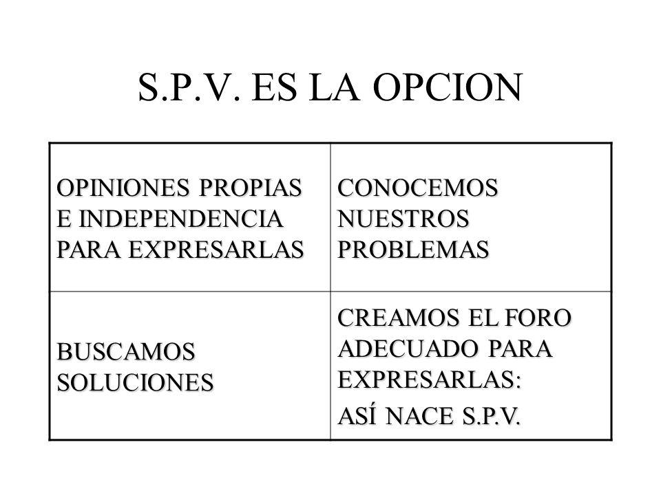 S.P.V.