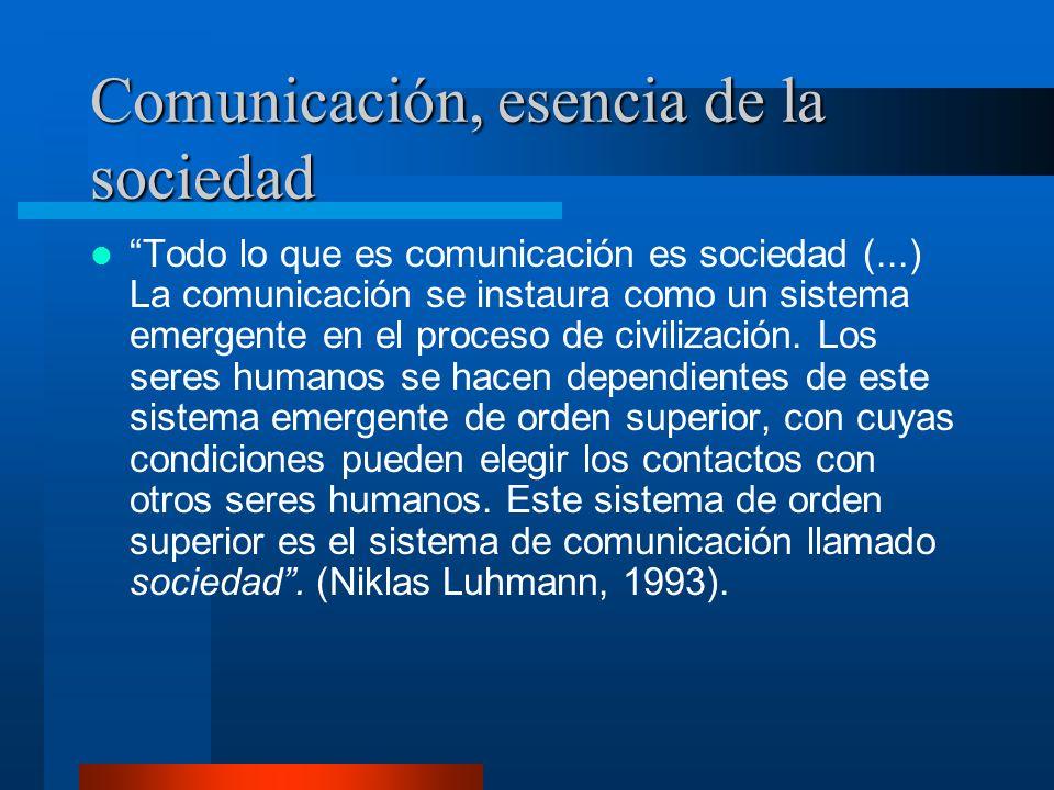 Concepto de Comunicación (II) Diferencias entre: - Observación.