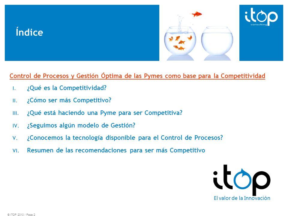 Índice I. ¿Qué es la Competitividad. II. ¿Cómo ser más Competitivo.
