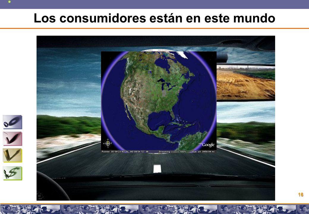 Copyright © 2008 Marcos Pueyrredon Copyright © 2008 Marcos Pueyrredon 16 Los consumidores están en este mundo
