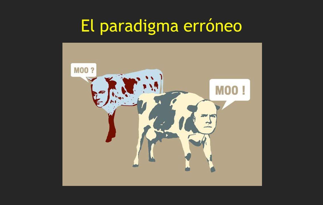El paradigma erróneo