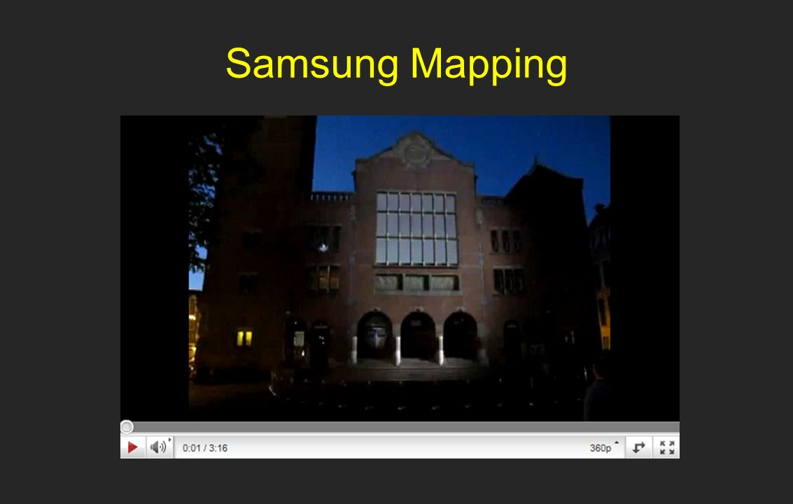 Samsung Mapping