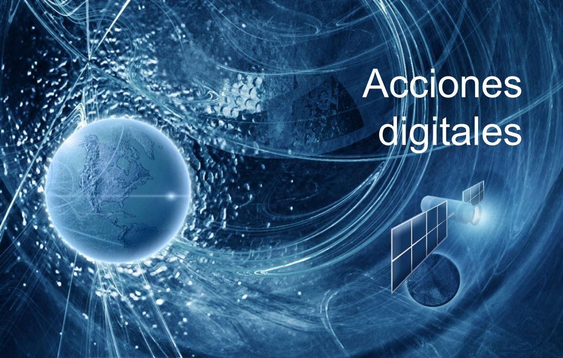 Acciones digitales