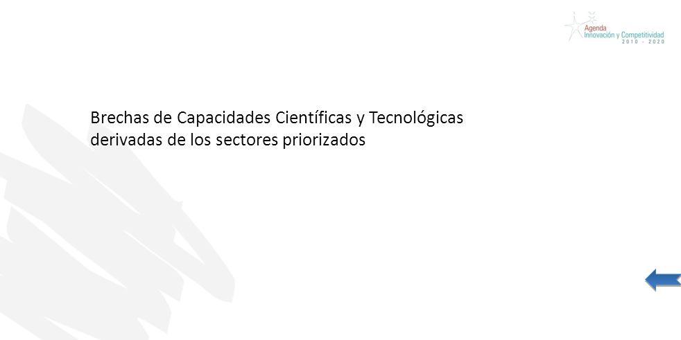 Credentials Presentation Prepared for CAP Brechas de Capacidades Científicas y Tecnológicas derivadas de los sectores priorizados