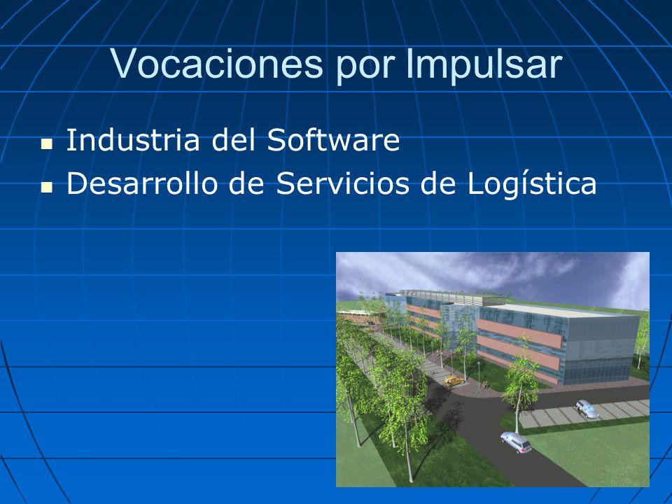 Vocaciones por Impulsar Industria del Software Desarrollo de Servicios de Logística