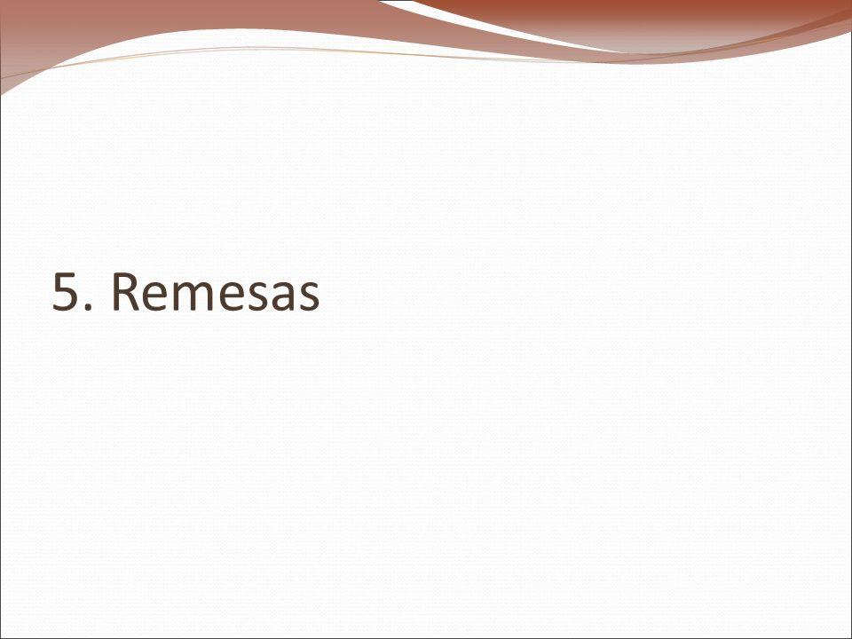 5. Remesas