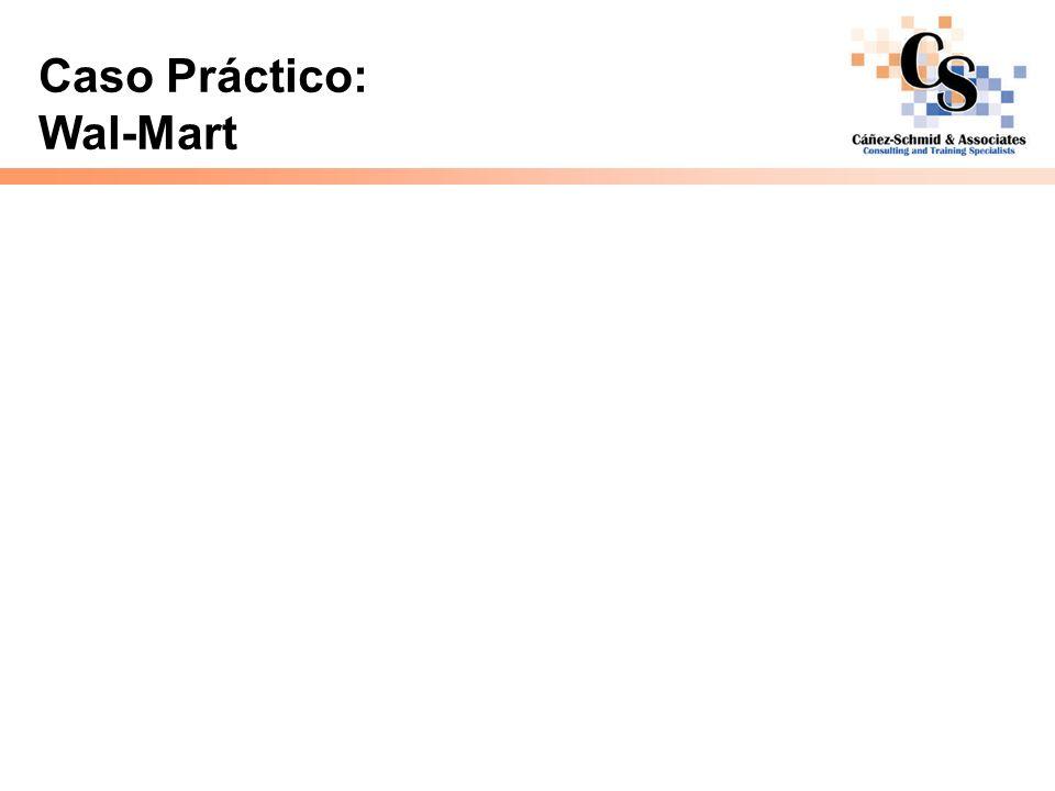 Caso Práctico: Wal-Mart