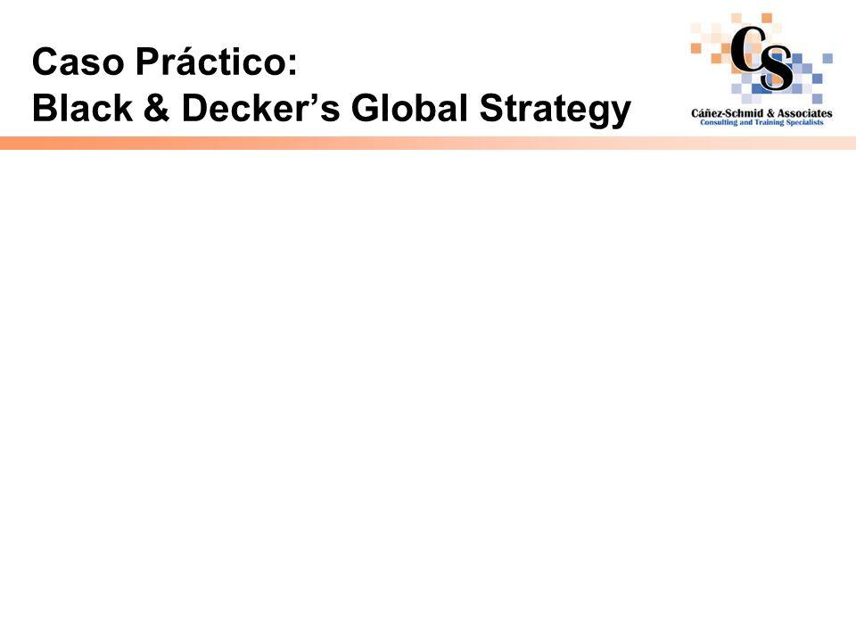 Caso Práctico: Black & Deckers Global Strategy