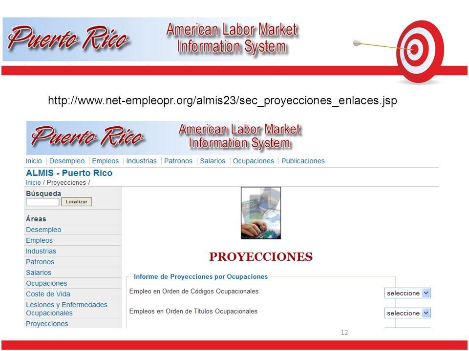 12 http://www.net-empleopr.org/almis23/sec_proyecciones_enlaces.jsp
