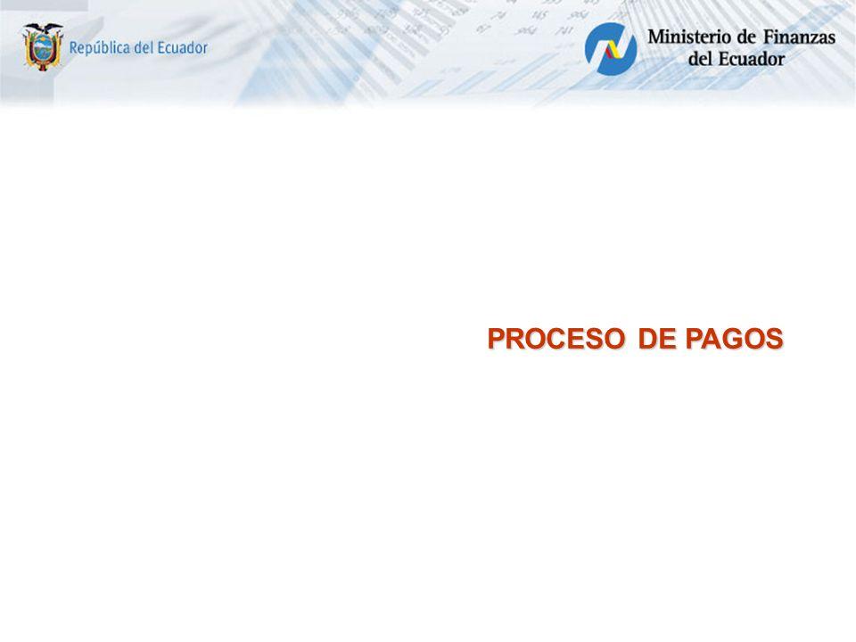 PROCESO DE PAGOS