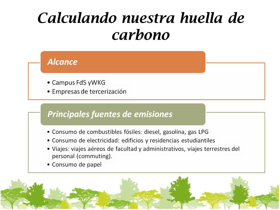 Calculando nuestra huella de carbono