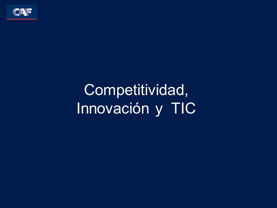 Competitividad El logro de una mayor competitividad no es un fin en si mismo para la política económica o para la estrategia a nivel empresarial.