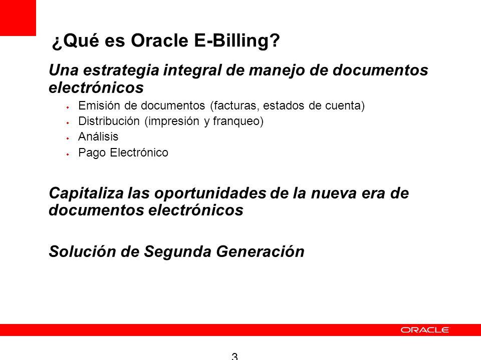 3 Una estrategia integral de manejo de documentos electrónicos Emisión de documentos (facturas, estados de cuenta) Distribución (impresión y franqueo)
