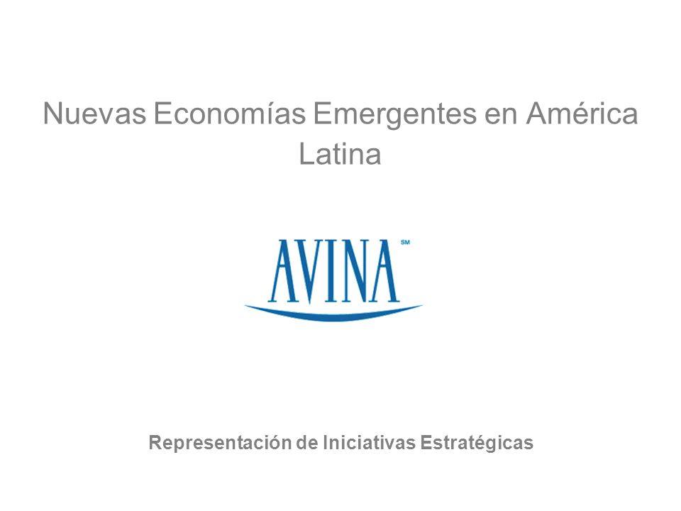Nuevas Economías Emergentes en América Latina Representación de Iniciativas Estratégicas
